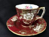 Crown Staffordshire  Espresso cup & saucer